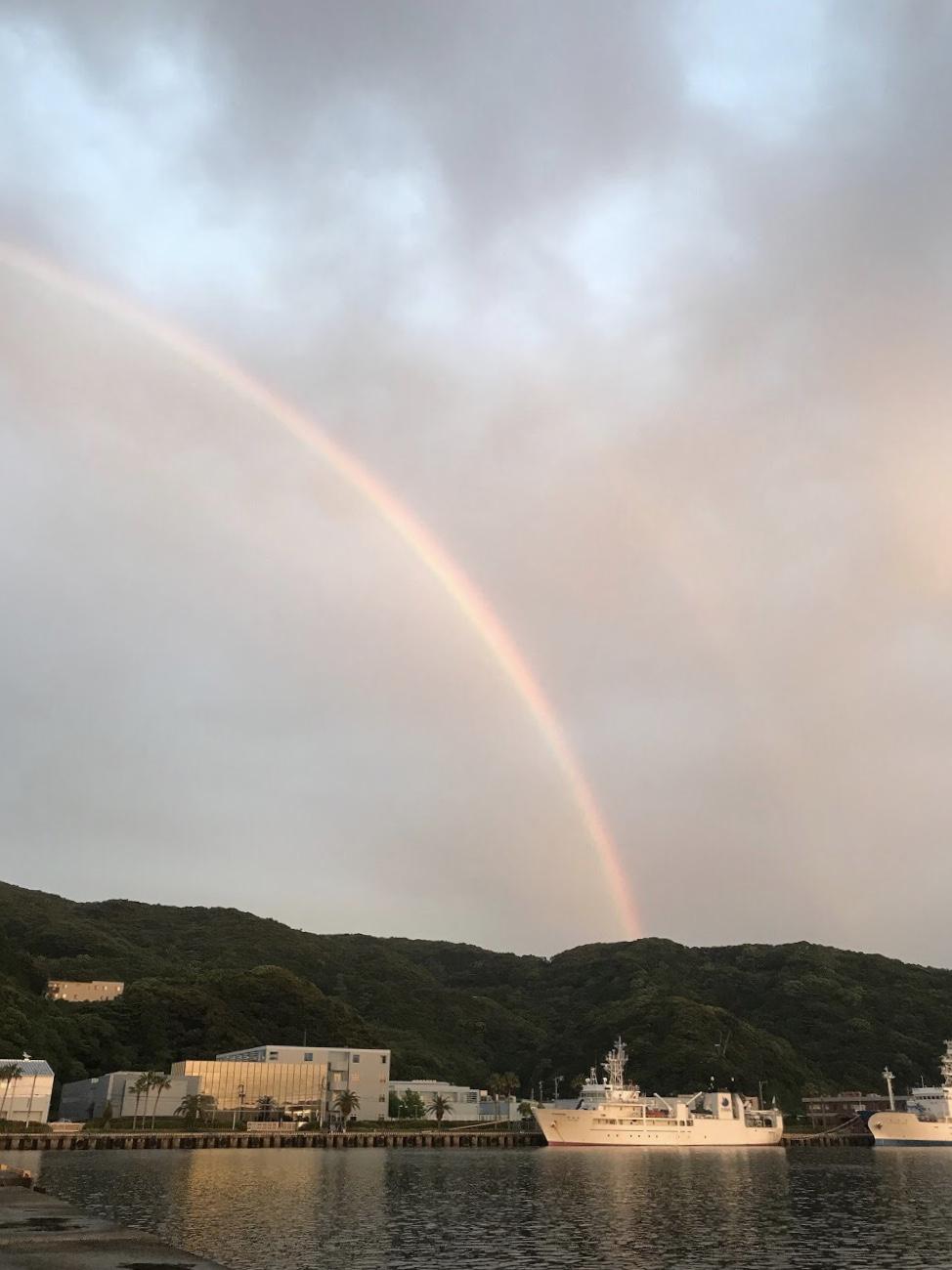 虹空の釣り最高♪